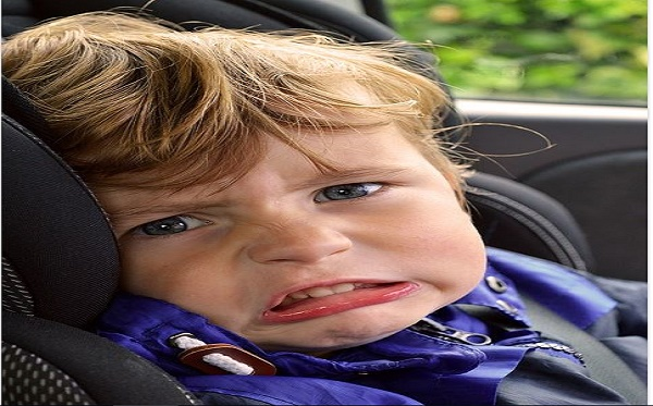 keep baby from sweating in car seat